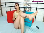 short hair cam girl feet in face no sound