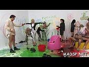 Insane juvenile amateurs enjoying a real life sex party