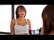 Nubiles Casting - Busty black babe tittie-fucks her way to a job