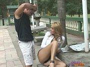 blonde shemale banging near pool