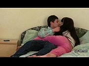 hot romantic amateur fuck on bed