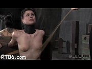 Intense caning for worthless playgirl