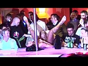 Porn on stage stripper fucked