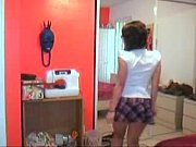 Cute Girl Stripping For First Time Watch More On- camnik.com