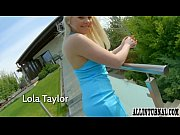 Blonde Lola Taylor in hard sex scene