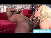 blonde wife with big ass cheats with black cock