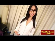 asian shemale doctor with glasses strips