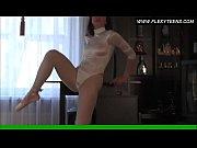 retro gymnastics by miksenko