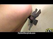huge tit babe deepthroats gloryhole dick.