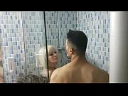 nora fucks an italian under shower.