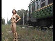 peladinha na linha do trem