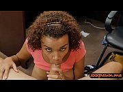 hot ebony woman drilled at the.