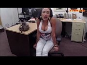 big boobs latina pounded in the backroom to.