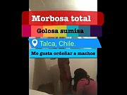 Puta Chilena follada por casado infiel talca / fuck married man whith shemale anal sex