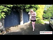 Upskirts in the park video