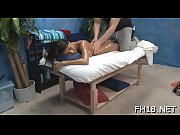 Cute, sexy 18 year old gets fucked hard by her massagist