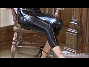brunette latex babe jerrys high heels fetish and.