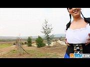 Pure Pov sex with big tits farm girl
