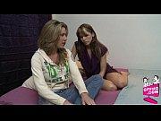 блондинка с челкой порно видео