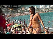 hot young teen topless on the beach in.