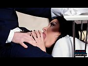 MILF Anissa Kate seduces man for a public toilet fuck