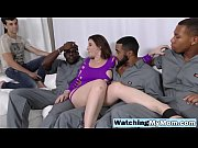 Naughty goddess MILF with huge thighs and ass craving for huge black dicks