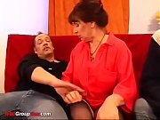 hot grannys first double penetration