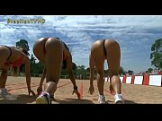 brazilian models race blindfolded - youtube.