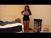 sexy ebony jerks off her boyfriend