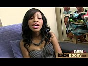 Ebony Cum Slut Hottie Bukkake Party 4