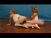 Teen cheerleader lesbians with toy