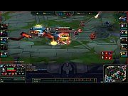 league of legends 1 vs 5 pentakill tryndamere las