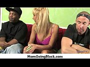 Wife and mom fucks a big black dick 22