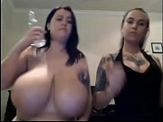 giant boobs on webcam slut