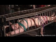 caged american fetish model caroline pierce in hot.