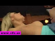 Blond beauty german teen get fuck in bar