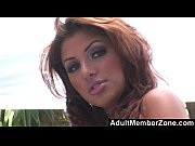adultmemberzone - latina hottie sativa rose gets spitroasted outdoors