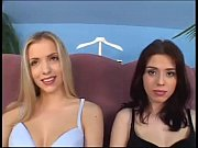 ceroline and alyssa in blowjob competition