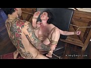 brunette slave anal pleases her master