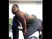 Samadhi super culona moviendo el culo