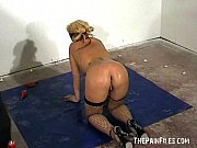 spanking and rough hardcore of blonde teen in.