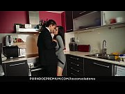 LOS CONSOLADORES - Spanish babe Nekane gets consoled by married couple in threesome