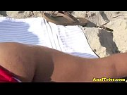 ass fucking action with busty beach.