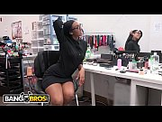 bangbros - behind the scenes with ebony pornstar.