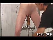 Gal gets spanked roughly