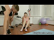 Fitness Instructor Sliding Into Her Tiny Little Box And Ass 0012