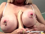 blonde mature big pierced tits and.