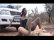 african babe enjoys a good fuck.