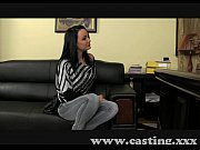 Casting Mature brunette takes anal in casting