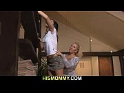 Old mom seduces her son'_s girl